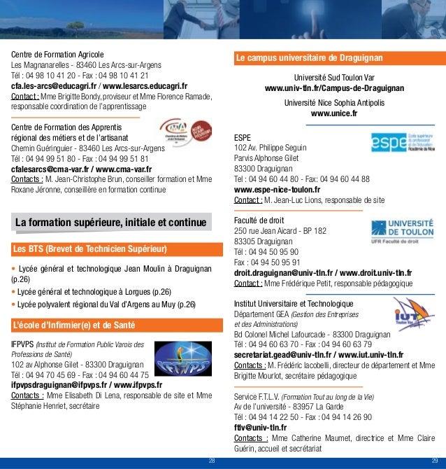 Guide Acteurs Emploi Formation De La Dracnie