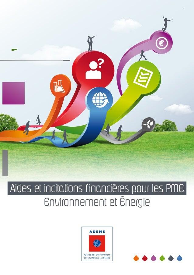 Aides et incitations financières pour les PME Environnement et Énergie
