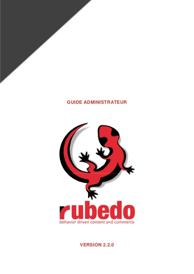 GUIDE ADMINISTRATEUR VERSION 2.2.0