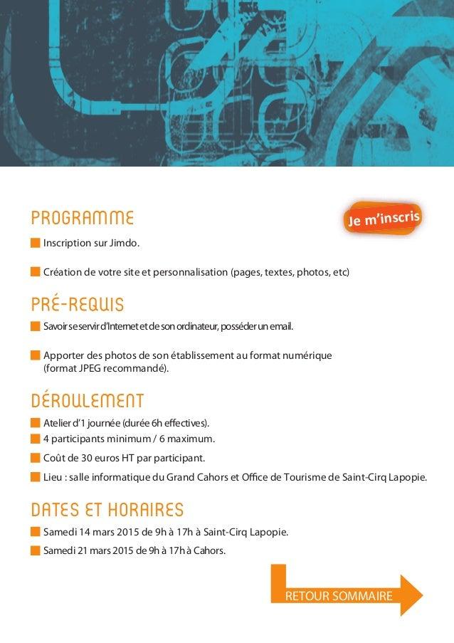 Guide animation num rique de territoire 2015 office de - Office de tourisme saint cirq lapopie ...