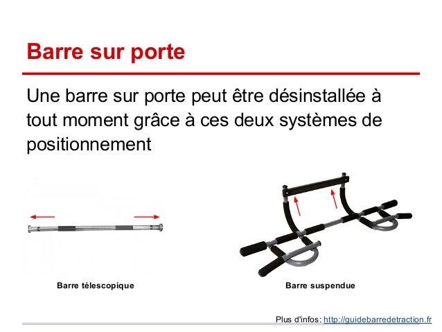 Guide barre de traction - Barre de slide ...