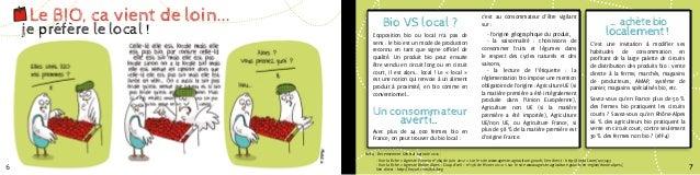 Le BIO, ça vient de loin...            Bio VS local?                                                                     ...