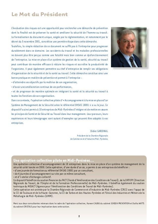 Boubaddara Youssef: Guide pour la mise en place d'un système HSE  Slide 2