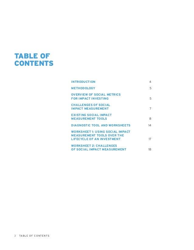 Guidebook for Impact Investors: Impact Measurement Slide 3