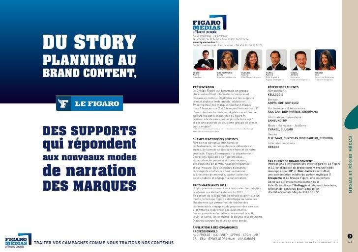Le guide des acteurs du brand content 2012
