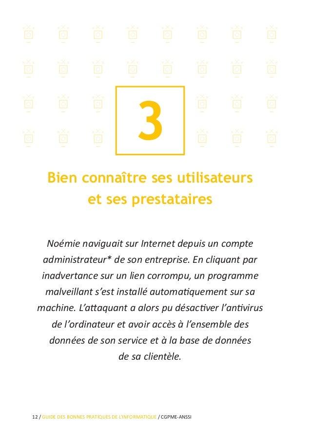 16 / GUIDE DES BONNES PRATIQUES DE L'INFORMATIQUE / CGPME-ANSSI 5 Sécuriser l'accès Wi-Fi de votre entreprise La borne d'a...