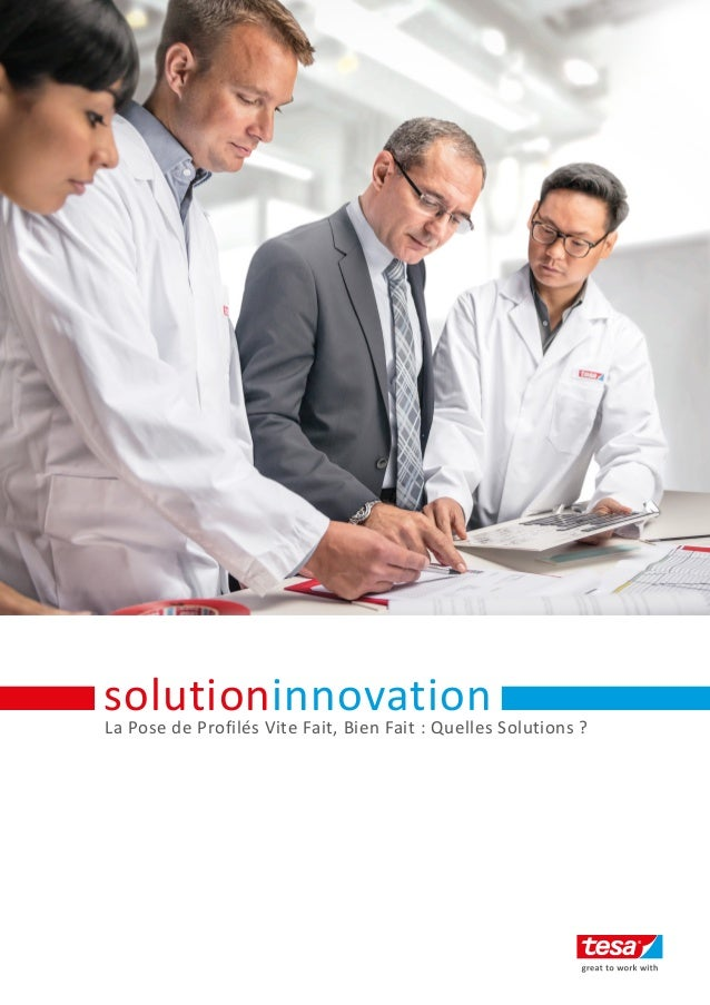 La Pose de Profilés Vite Fait, Bien Fait : Quelles Solutions ? solutioninnovation