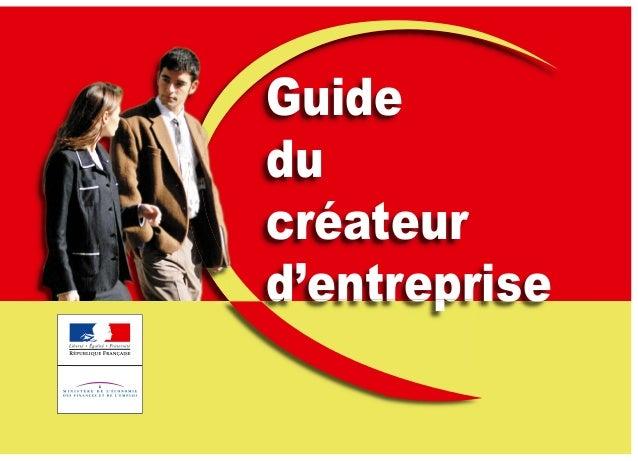 Guide du créateur d'entreprised'entreprised'entreprise