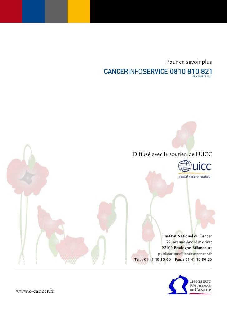 Comprendre la chimiothérapie