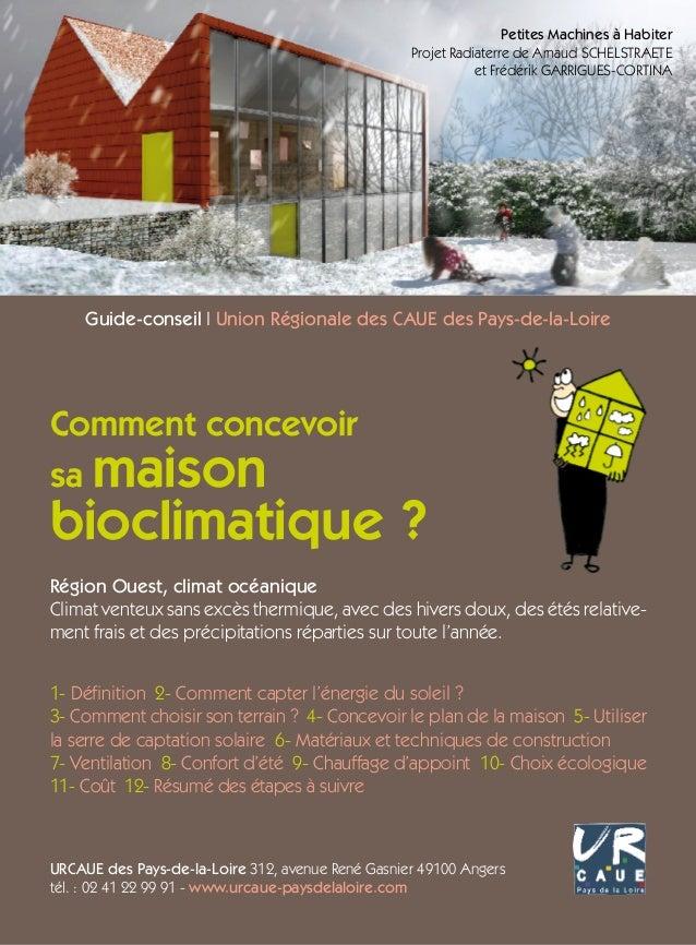Petites Machines à Habiter Projet Radiaterre de Arnaud Schelstraete et Frédérik Garrigues-Cortina  Guide-conseil I Union R...