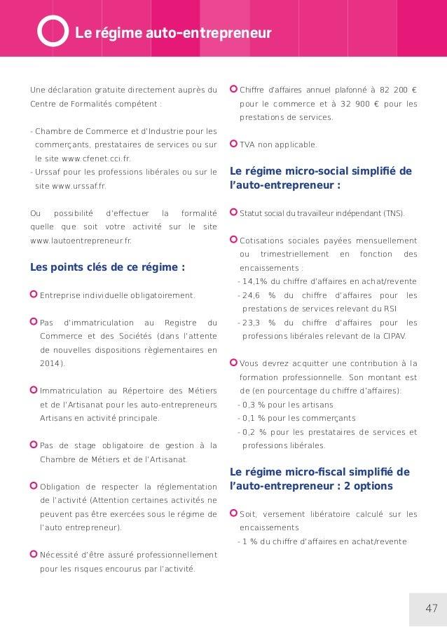 Guide Créer Son Entreprise 2014