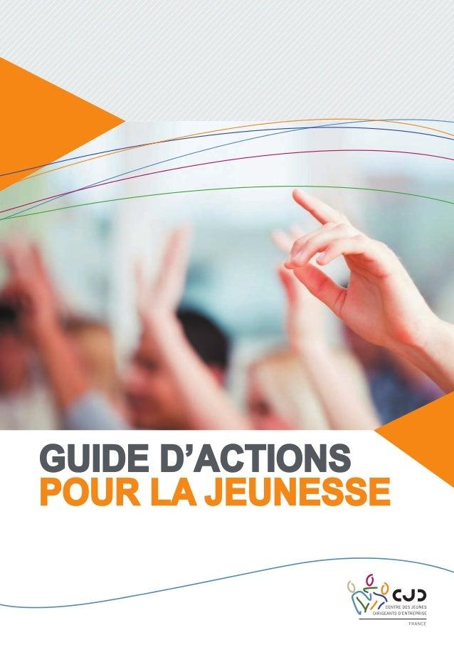 Guide d'actions pour la jeunesse