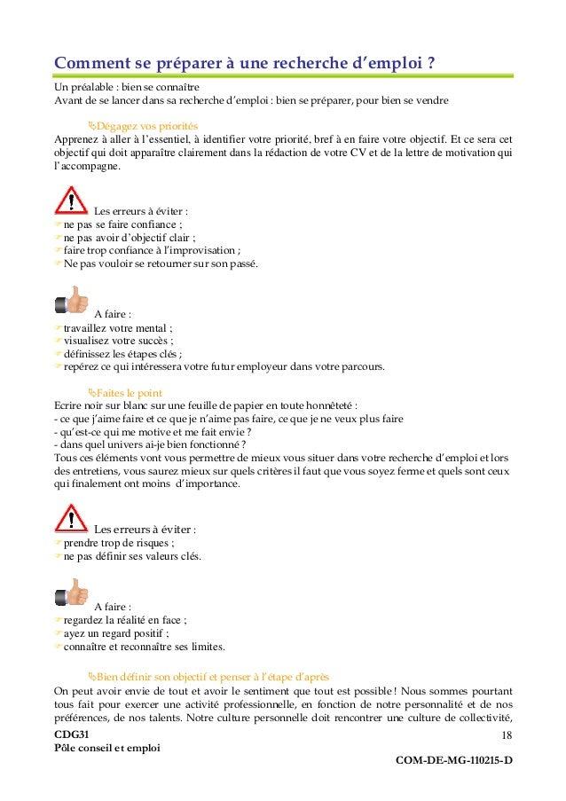guide pratique du demandeur d u0026 39 emploi  fonction publique territoriale
