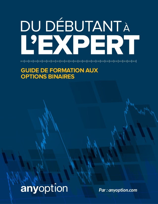 GUIDE DE FORMATION AUX OPTIONS BINAIRES Par : anyoption.com
