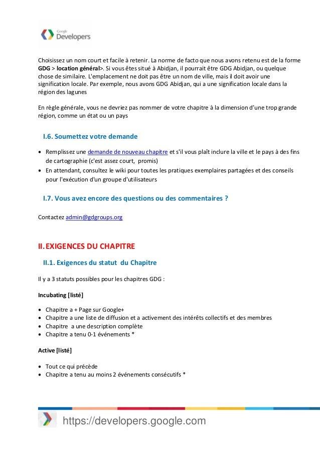 Guide de demarrage de creation d un gdg Slide 2