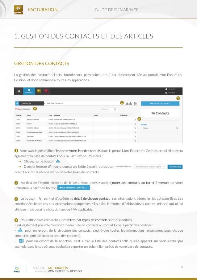 Facturation rapide web guide de d marrage - Liste des cabinets d expertise comptable au senegal ...