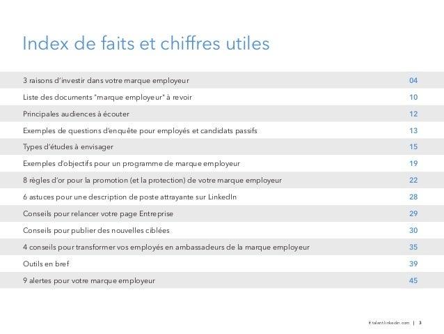 Guide de la marque employeur 2013 LinkedIn (Belgique) Slide 3