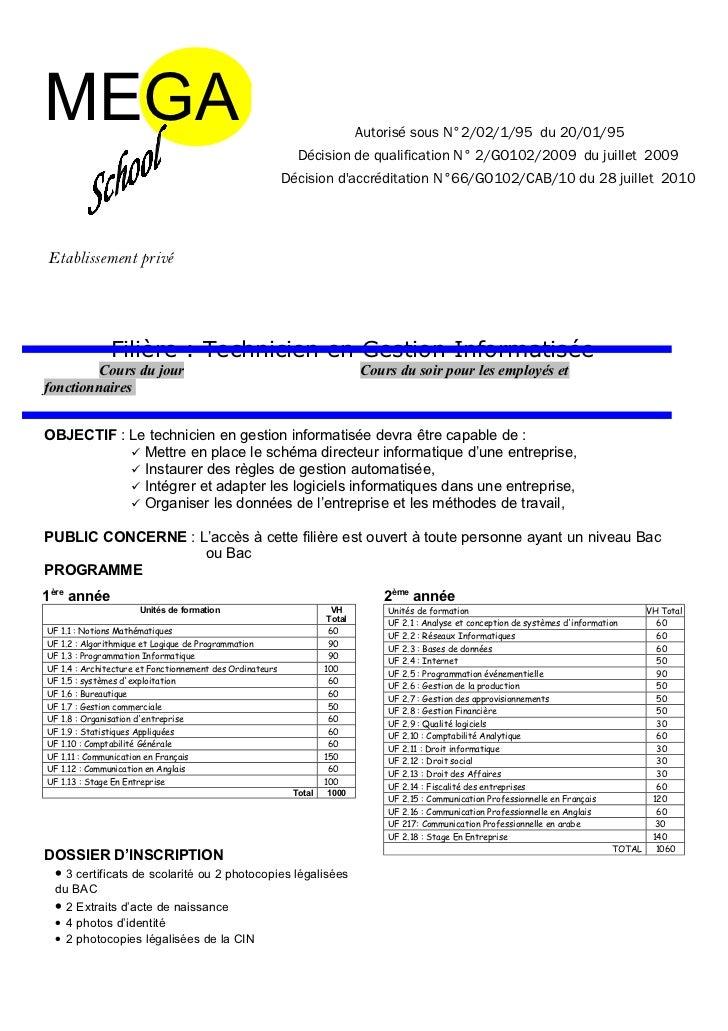 MEGA                                                                        Autorisé sous N°2/02/1/95 du 20/01/95         ...