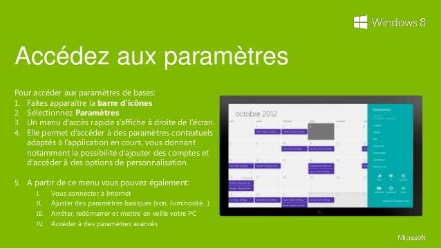 Guide de prise en main windows 8