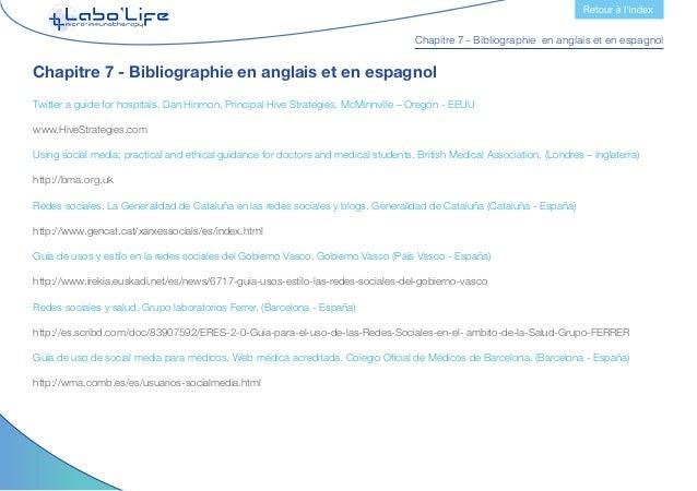 Chapitre 7 - Bibliographie en anglais et en espagnol Manuales para dominar las herramientas del entorno 2.0. Territorio Cr...