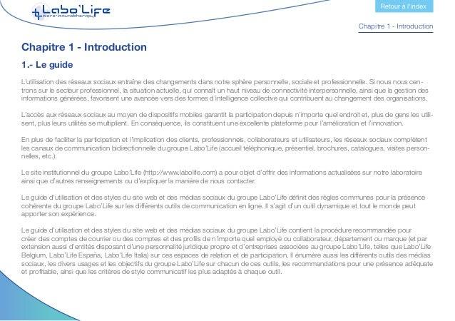 Chapitre 1 - Introduction 2.- Objectifs Les objectifs que nous recherchons au travers de l'utilisation des principaux outi...