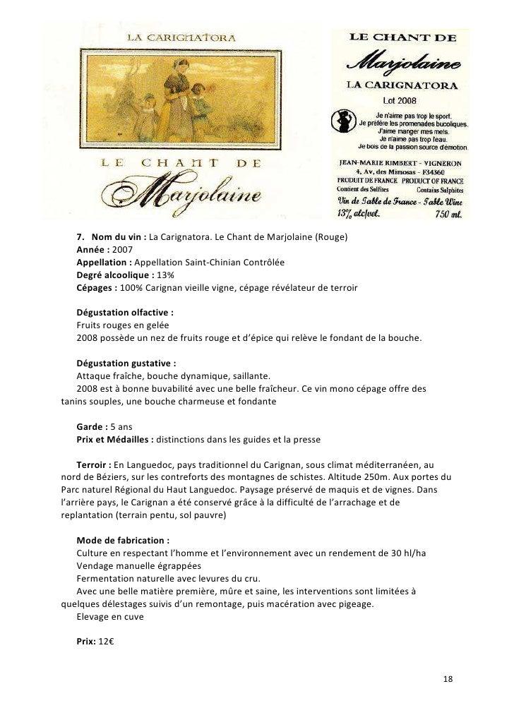 guide des vins spiritueux de la cave du march de jarnac 2010. Black Bedroom Furniture Sets. Home Design Ideas