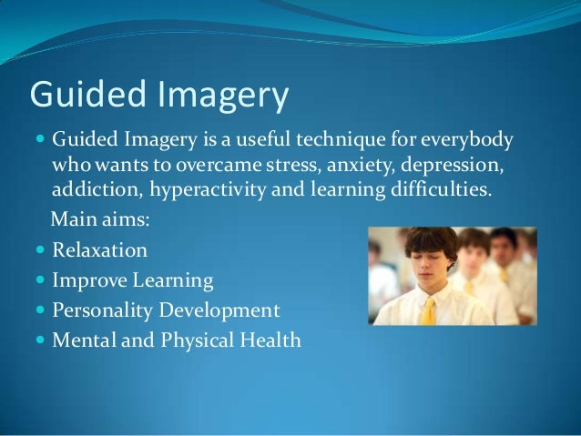 guided imagery mind and body connection Want to better understand the mind-body connection and how and why meditation and guided imagery work so well for health and healing, sports and learning.