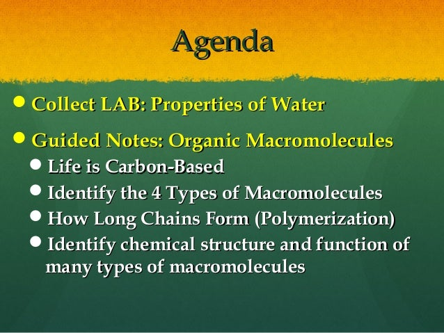 macromolecules lab Chapter 3 centrifugation biochemistry and molecular biology (bmb) 31 introduction 32 basic principle of sedimentation 33 types, care and safety of centrifuges 34 preparative.