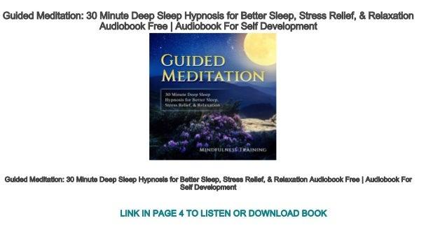 Guided Meditation 30 Minute Deep Sleep Hypnosis for Better Sleep, Str…