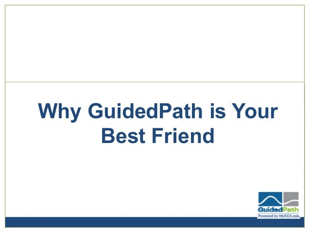 Why GuidedPath is Your Best Friend