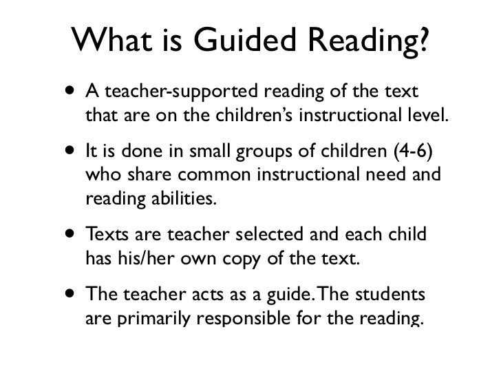 Guided Reading Ppt