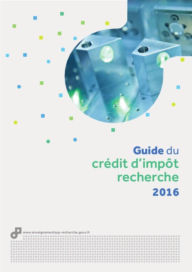 Guide du cr dit d 39 imp t 2016 - Credit impot chaudiere 2016 ...