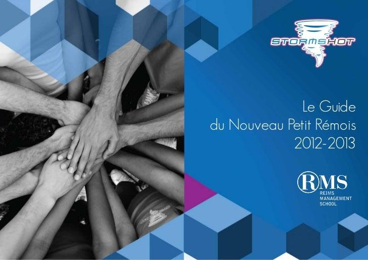 Le Guidedu Nouveau Petit Rémois            2012-2013