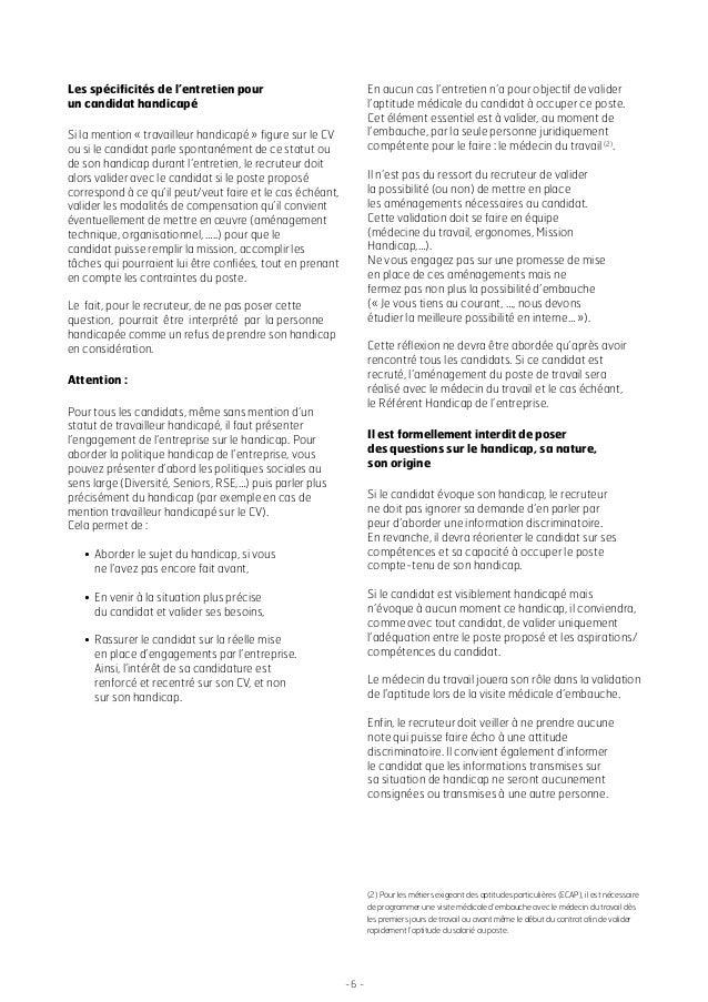 agefiph guide du recruteur 2014