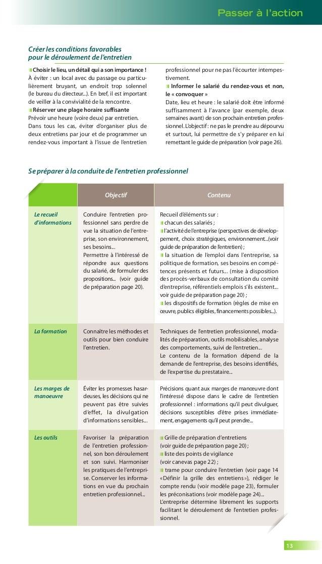 guide entretien professionnel - opcalia