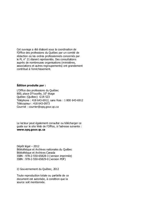 Guide explicatif   pl 21 - septembre 2012 Slide 2