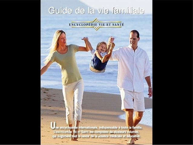 Guide vie familiale