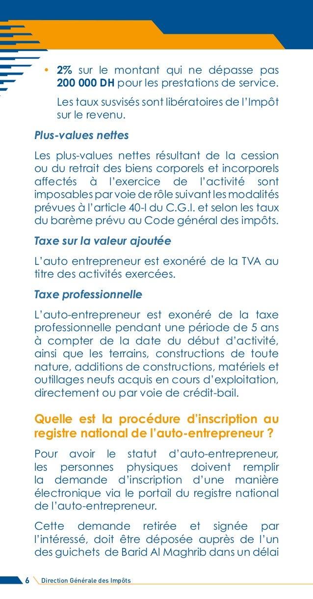 Guide Fiscal De L Auto Entrepreneur Au Maroc