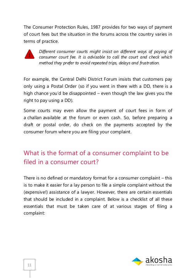 Guide for consumer court akosha 11 11 the consumer spiritdancerdesigns Image collections