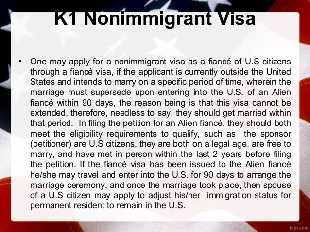 How to get a fiance visa for the usa