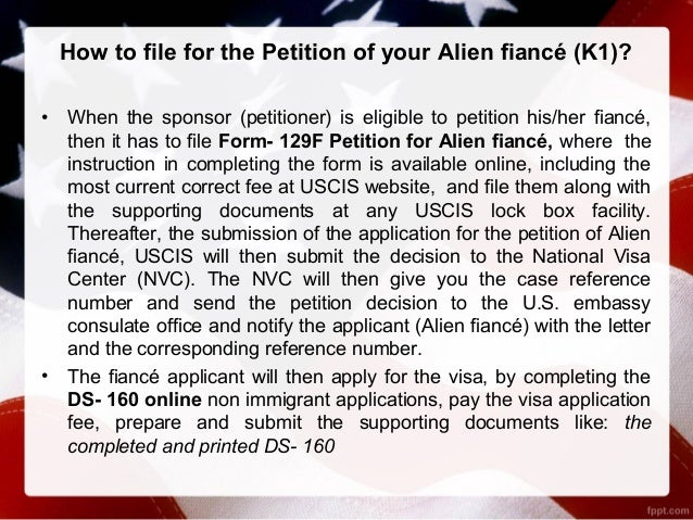 Requirements For Fiancee Visa In Us