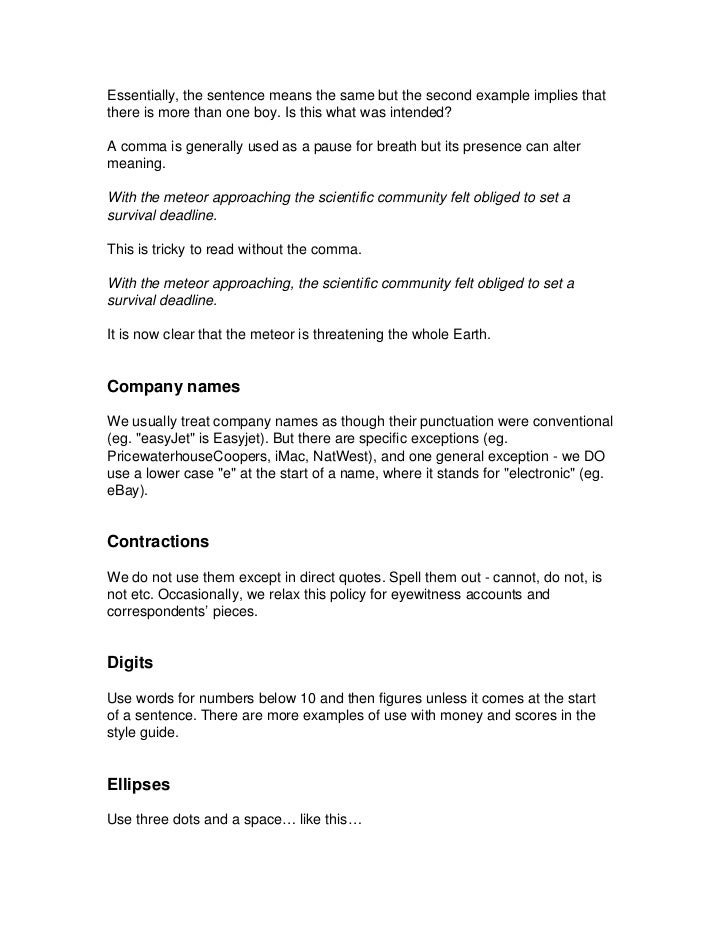 Guardian and Observer style guide: Q | Info | The Guardian