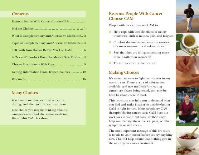 Dr Dev Kambhampati | NIH- Guide for people with Cancer- Complementary & Alternative Medicine Slide 2