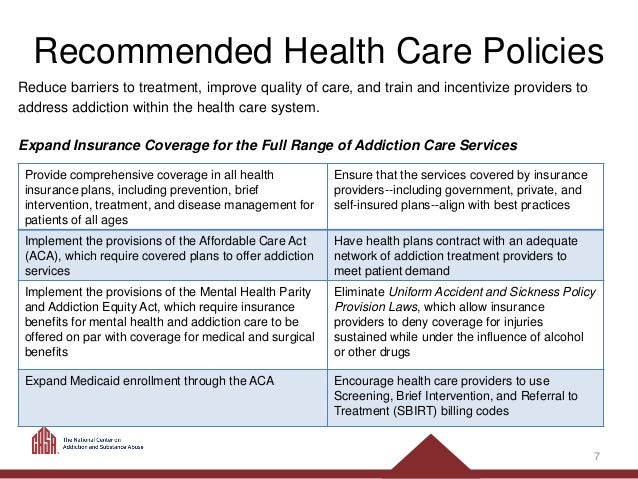 Guide For Policymakers Prevention Early Intervention And Treatment