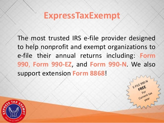 Guide for PTA's to file form 990-N with ExpressTaxExempt