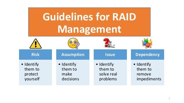 Guide For Raid Management