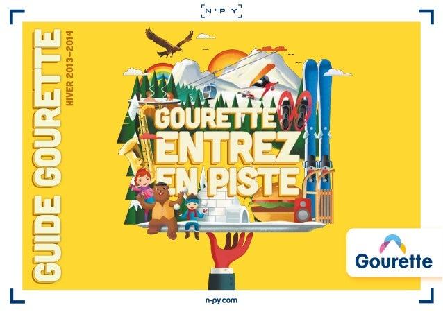 HIVER 2013-2014  guide Gourette