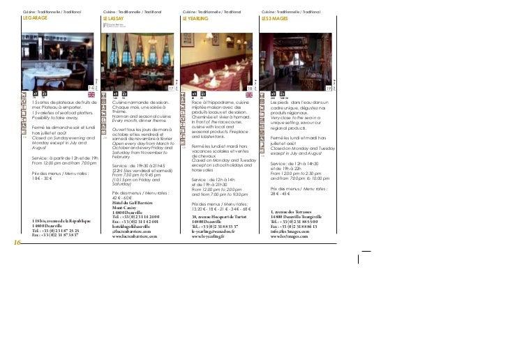 Guide gourmand de deauville for Restaurant le garage deauville