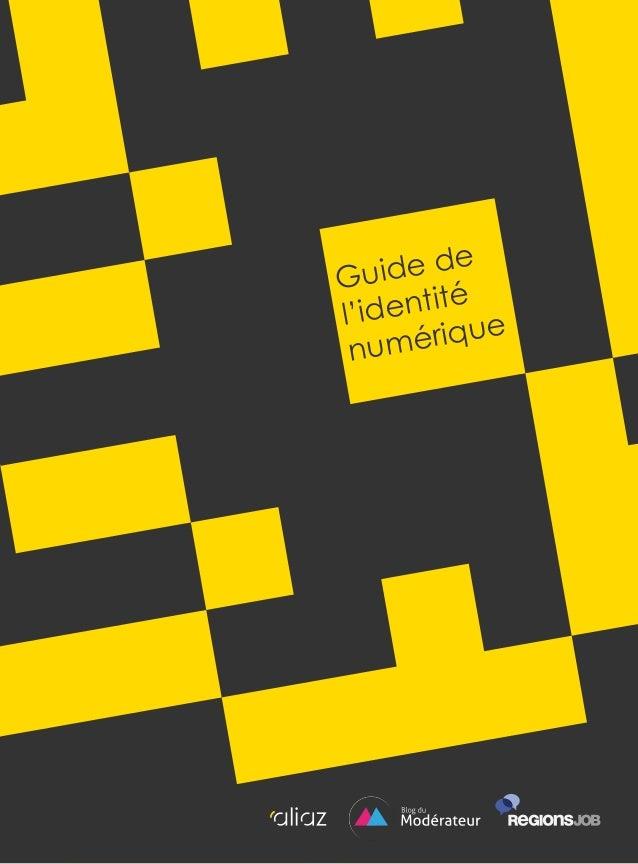 Guide de l'identité numérique