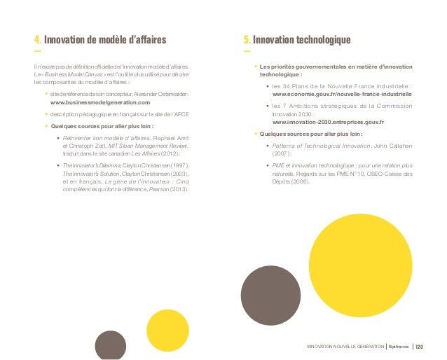 INNOVATION NOUVELLE GÉNÉRATION Bpifrance 122 6. Innovation sociale • Définitions officielles : • Commission européenne :...
